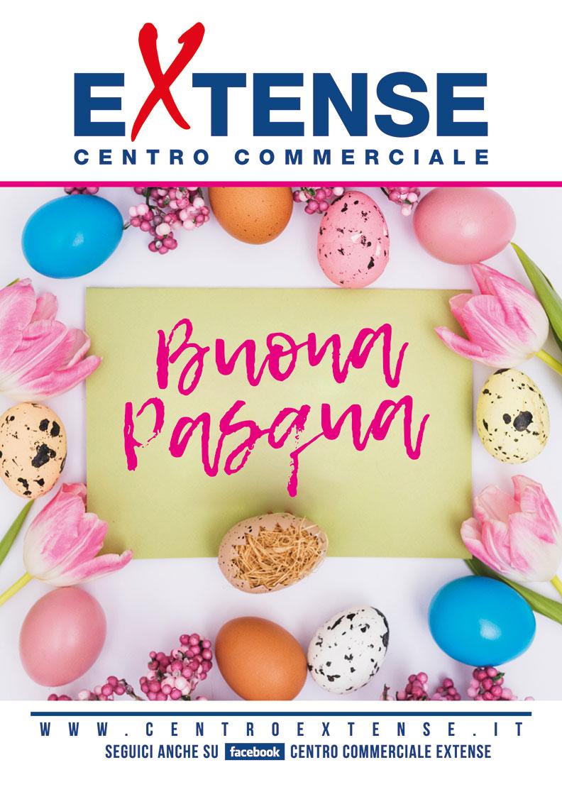 Buona Pasqua! Centro Commerciale Extense - 3 aprile 2018
