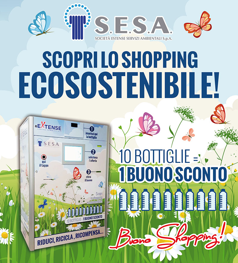 Eco-Shopping al Centro Commerciale Extense