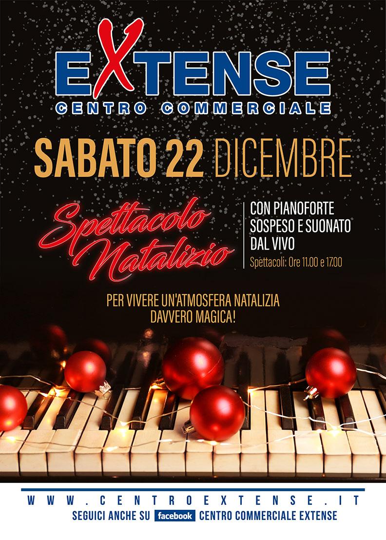 Spettacolo Natalizio Centro Commerciale Extense - Sabato 22 dicembre 2018