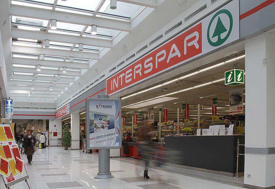 Interspar. Il Superstore oltre la convenienza.