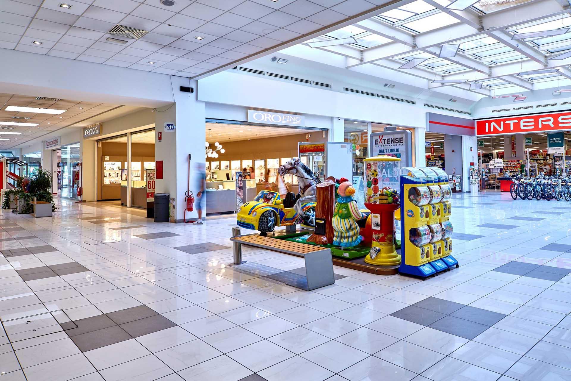 Interspar e Orofino al Centro Commerciale Extense
