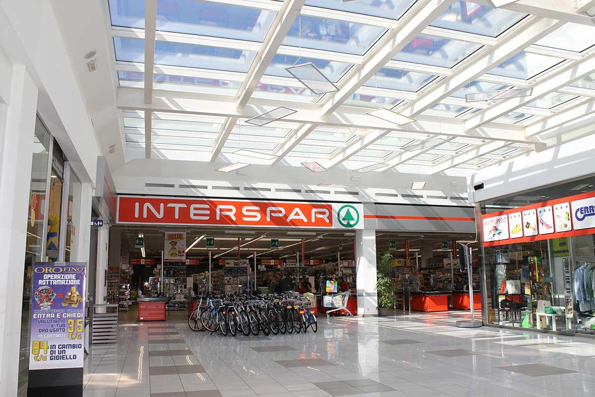 Interspar al Centro Commerciale Extense