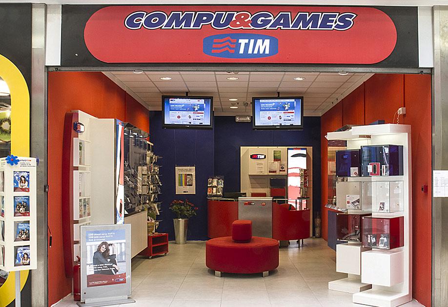 Compu&Games. Servizi informatici e Centro Tim.