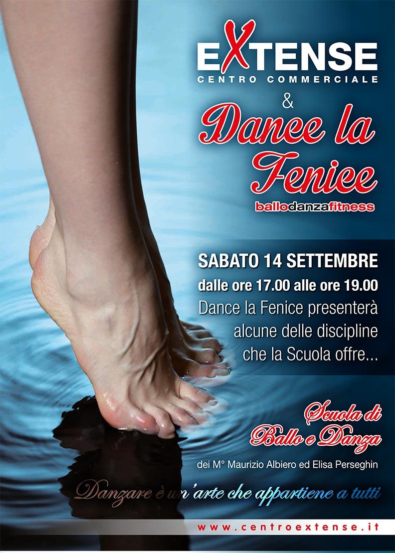 Dance La Fenice al centro Commerciale Extense - 14 settembre 2013