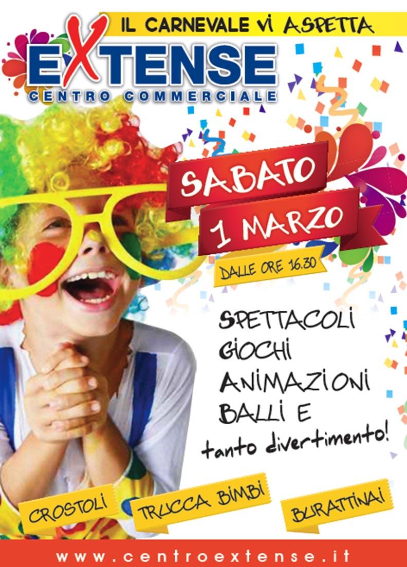 Carnevale al Centro Commerciale Extense - Primo marzo 2014