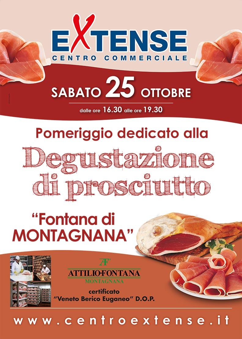 Degustazione Prosciutto al centro Commerciale Extense - 25 ottobre 2014