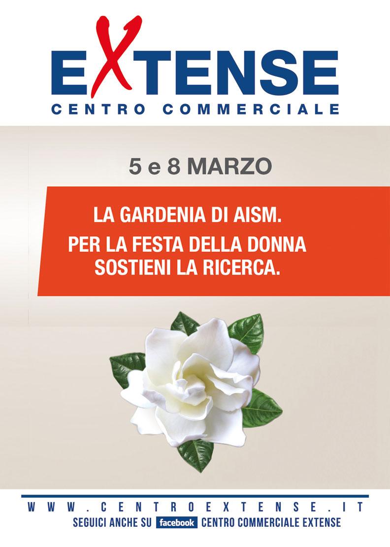 La Gardenia di AISM al Centro Commerciale Extense - 4 e 5 marzo 2017