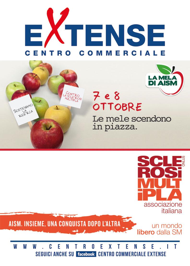 Mela di AISM al Centro Commerciale Extense - 7 e 8 ottobre 2017