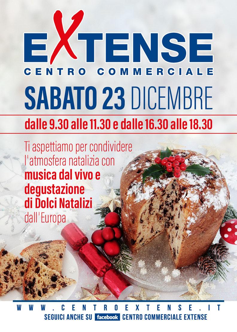 Auguri di Natale Centro Commerciale Extense - Sabato 23 dicembre 2017