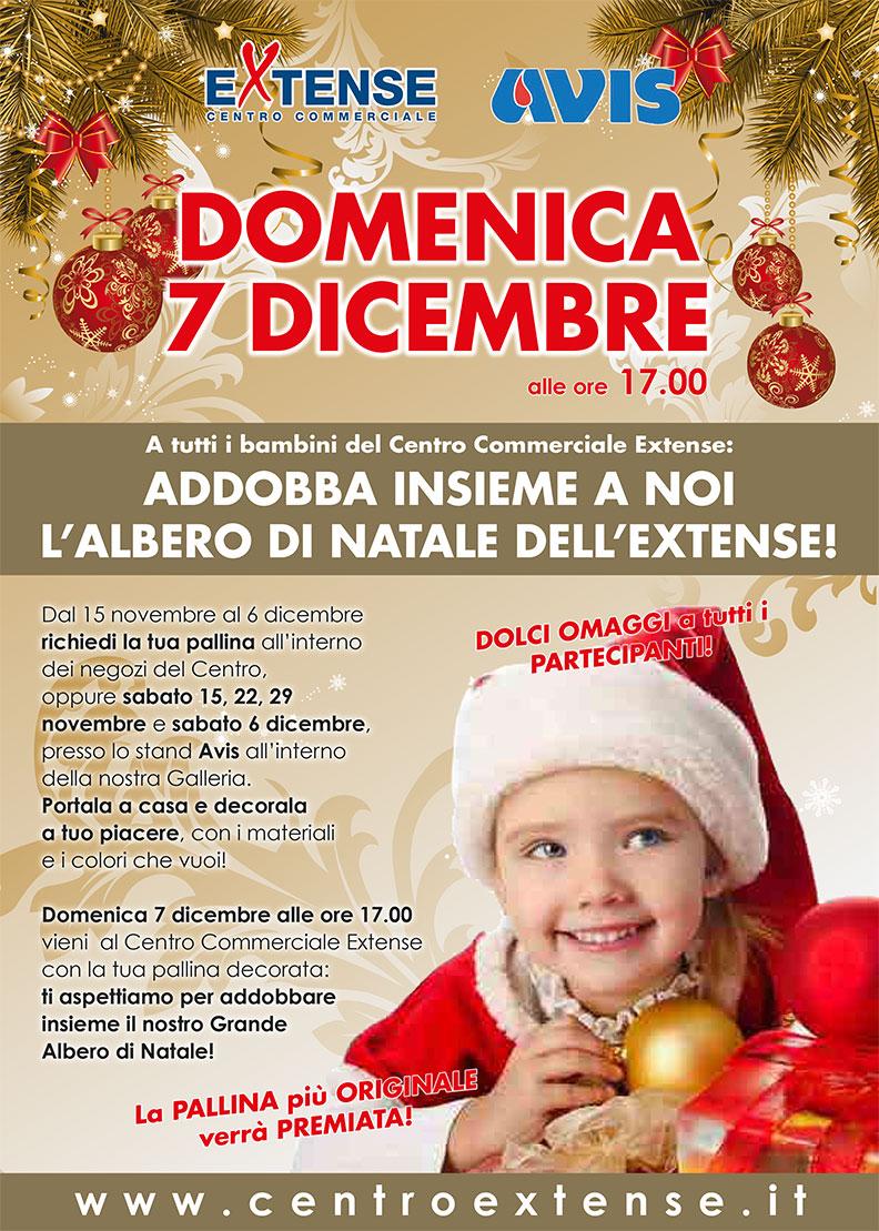 Albero di Natale al Centro Commerciale Extense - 7 dicembre 2014