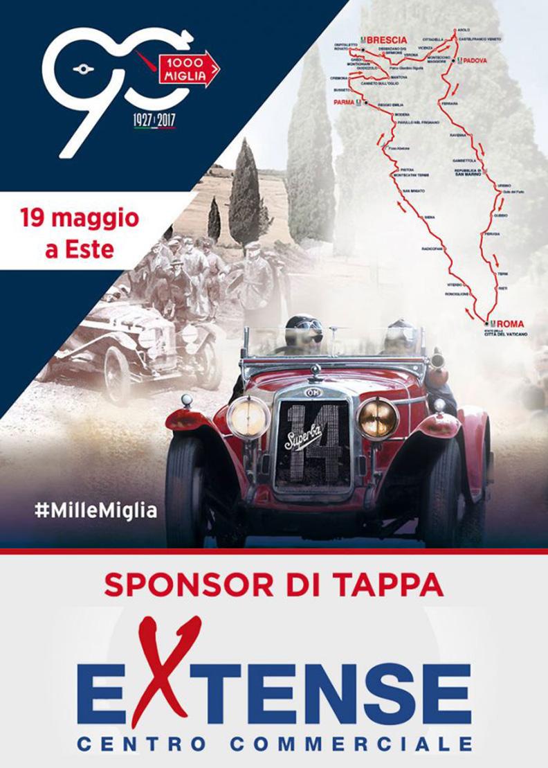 Mille Miglia - Centro Commerciale Extense - Venerdì 19 maggio 2017