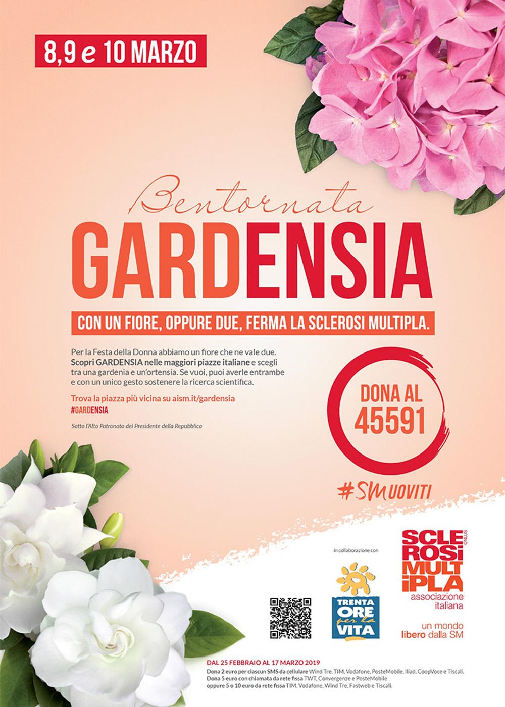 Bentornata Gardensia al Centro Commerciale Extense - 8, 9 e 10 marzo 2019