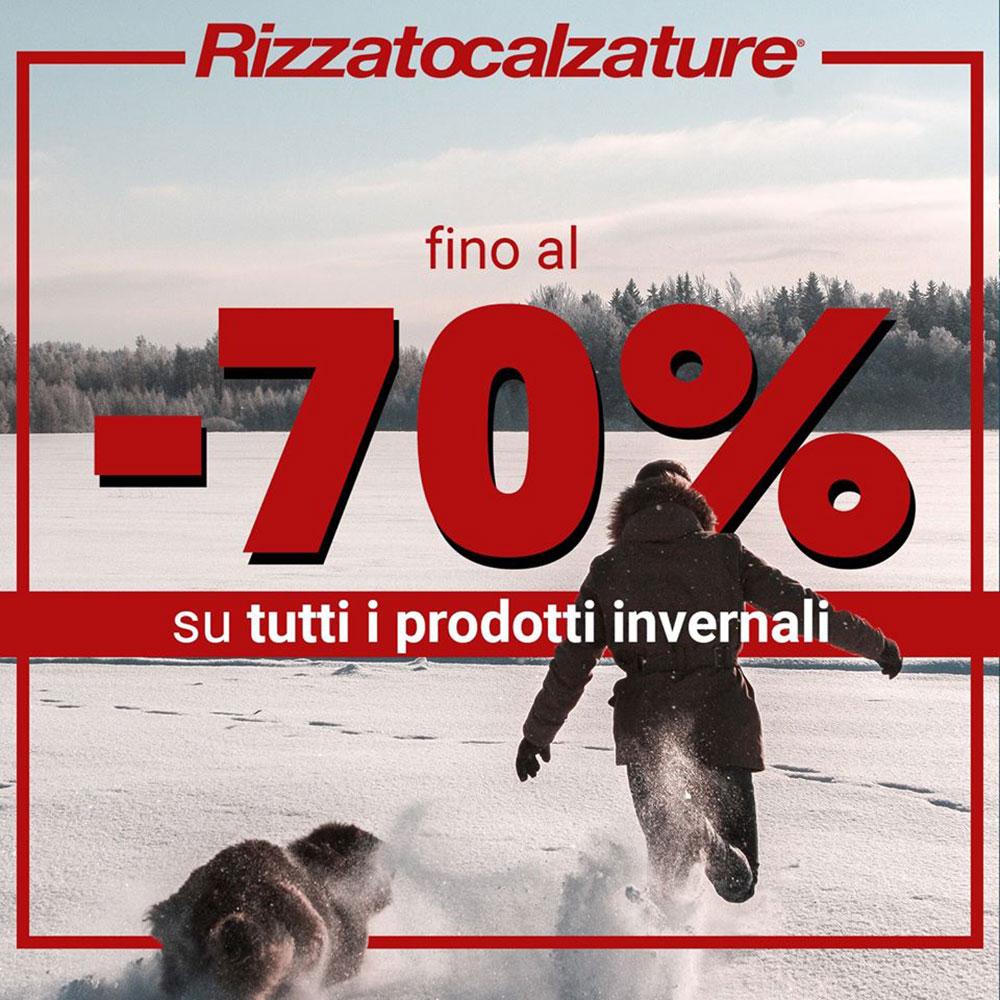 Rizzato Calzature - Sconti fino al -70% su tutti i prodotti invernali