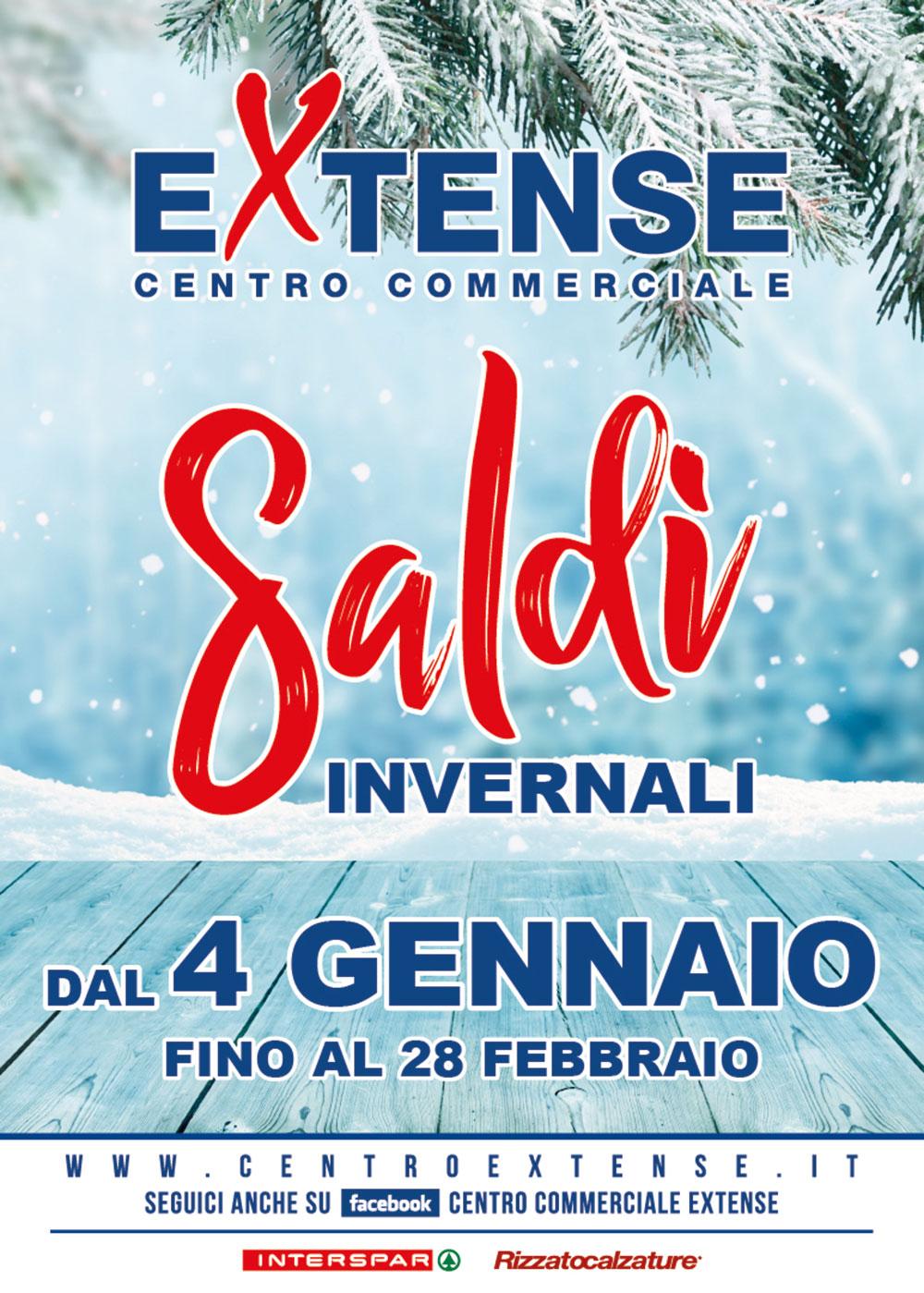 Saldi Invernali 2020 - Centro Commerciale Extense