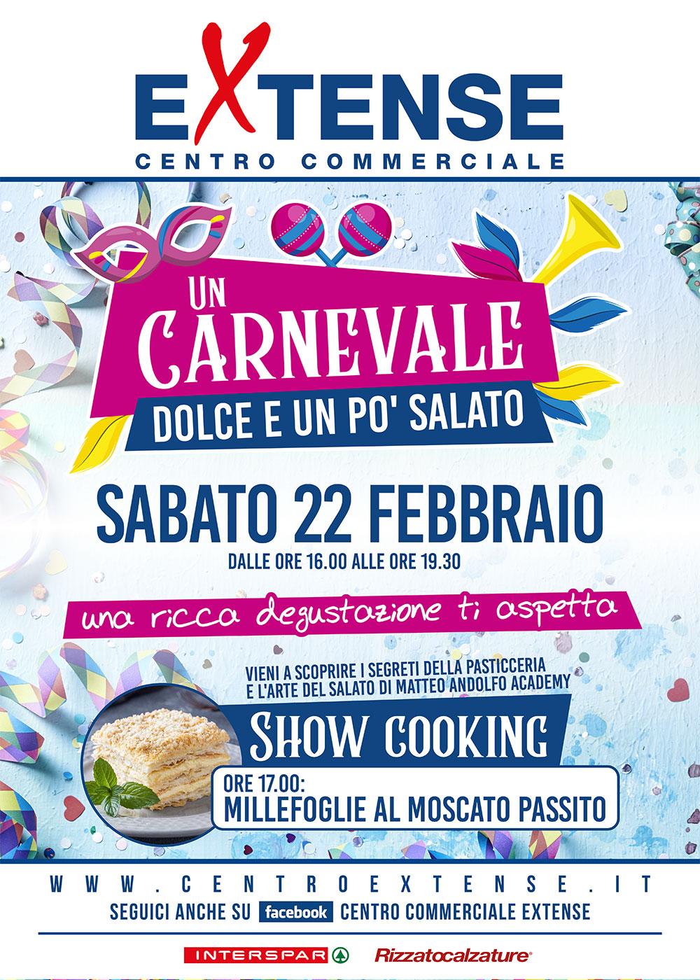 Carnevale 2020 al Centro Commerciale Extense - 22 febbraio 2020