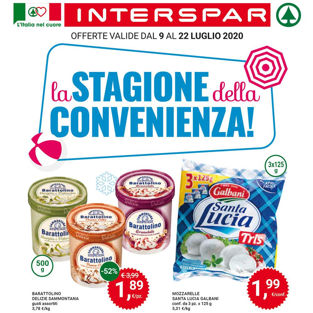 Offerta Interspar - La Stagione della Convenienza! - Valida dal 9 al 22 luglio 2020
