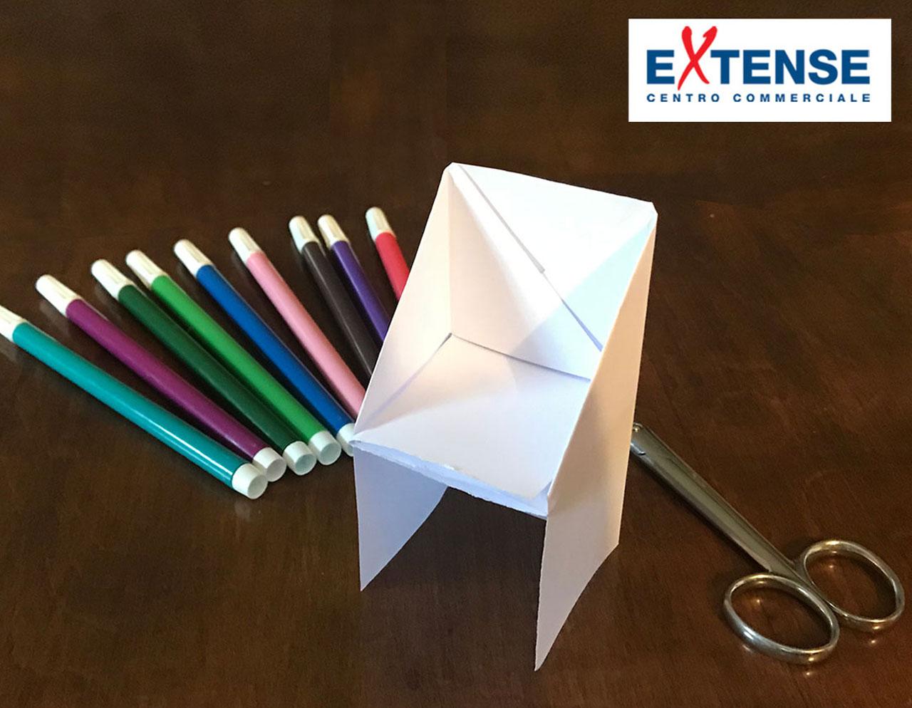 Gioca con noi - La poltroncina di carta! - Centro Commerciale Extense