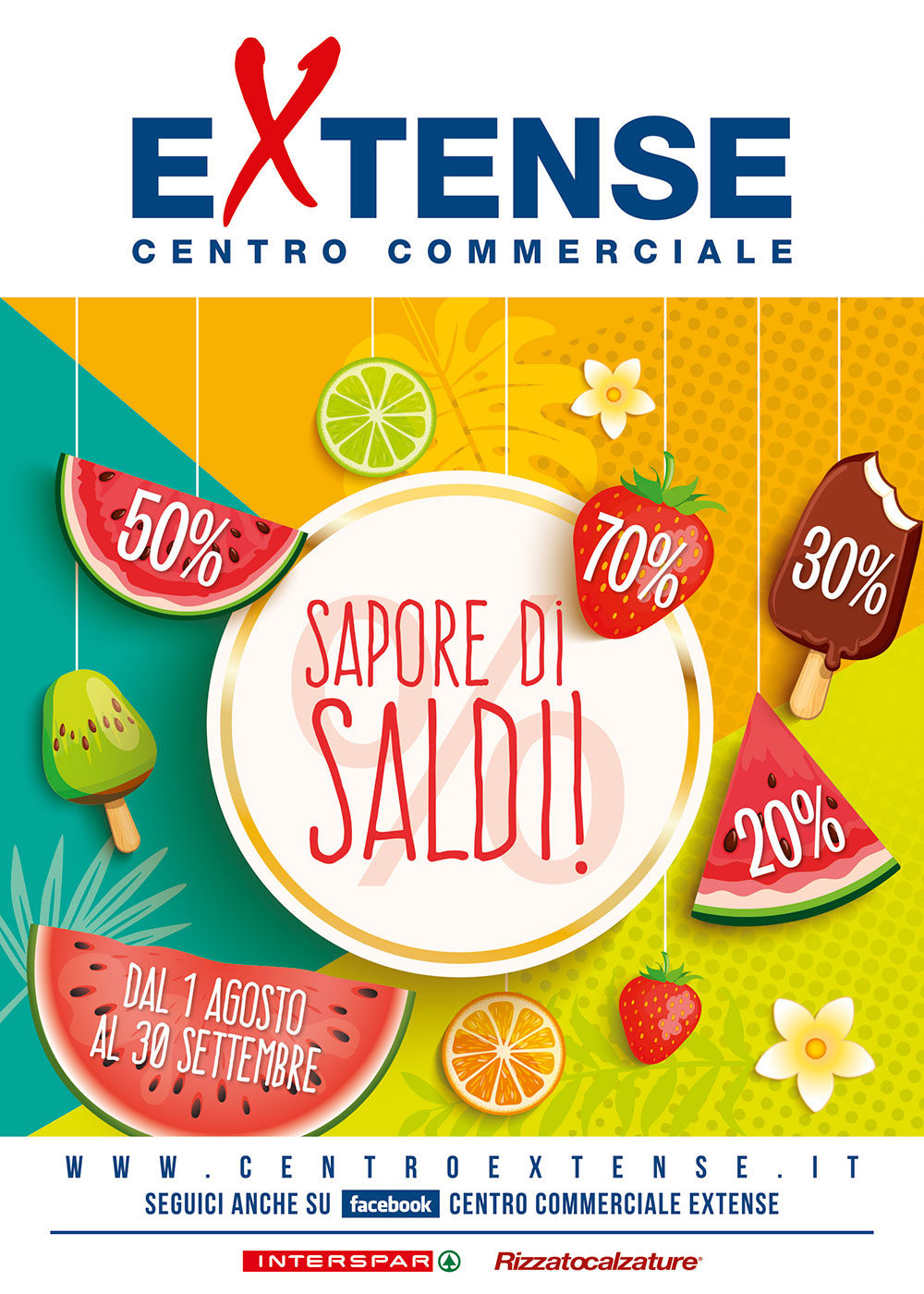 Saldi Estivi 2020 - Centro Commerciale Extense