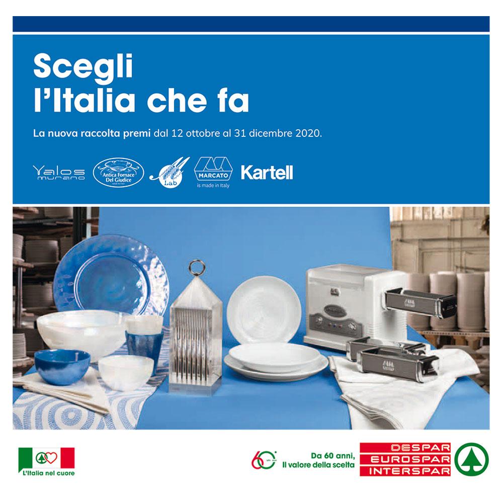 Raccolta premi Interspar - Scegli l'Italia che fa - Valida dal 12 ottobre al 31 dicembre 2020