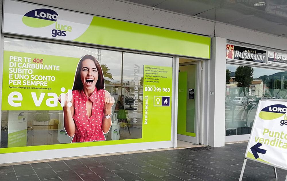 LORO LUCE GAS - Le migliori offerte luce e gas per te al Centro Commerciale Extense