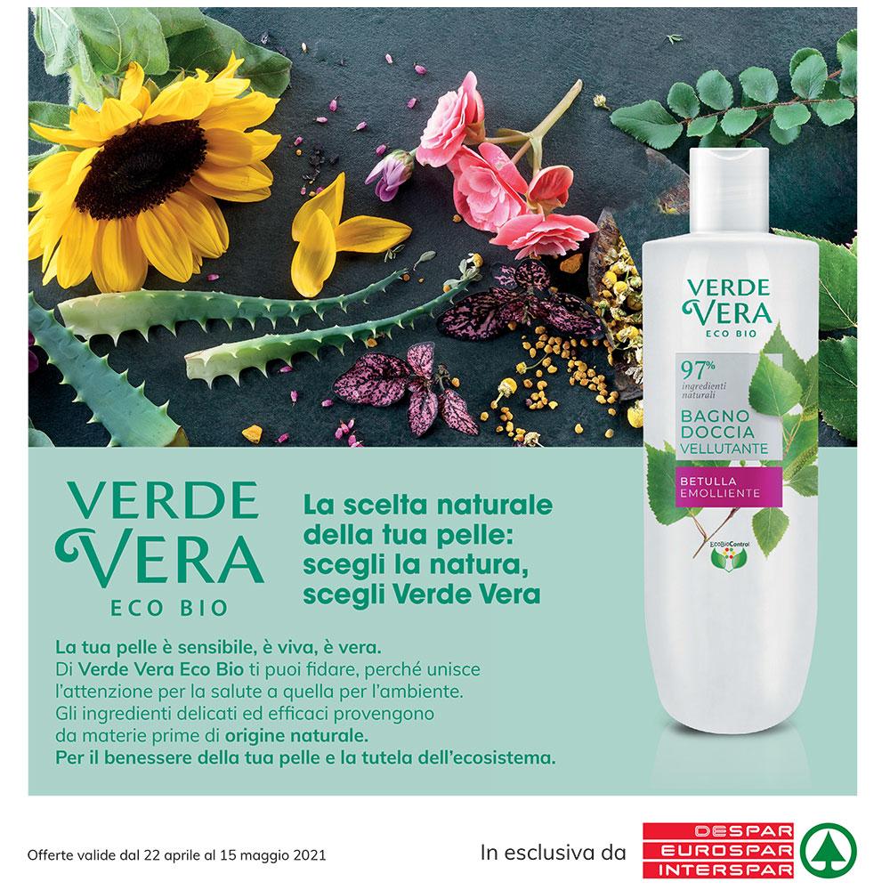 Offerta Interspar - Verde Vera Eco Bio - Valida dal 22 aprile al 15 maggio 2021.