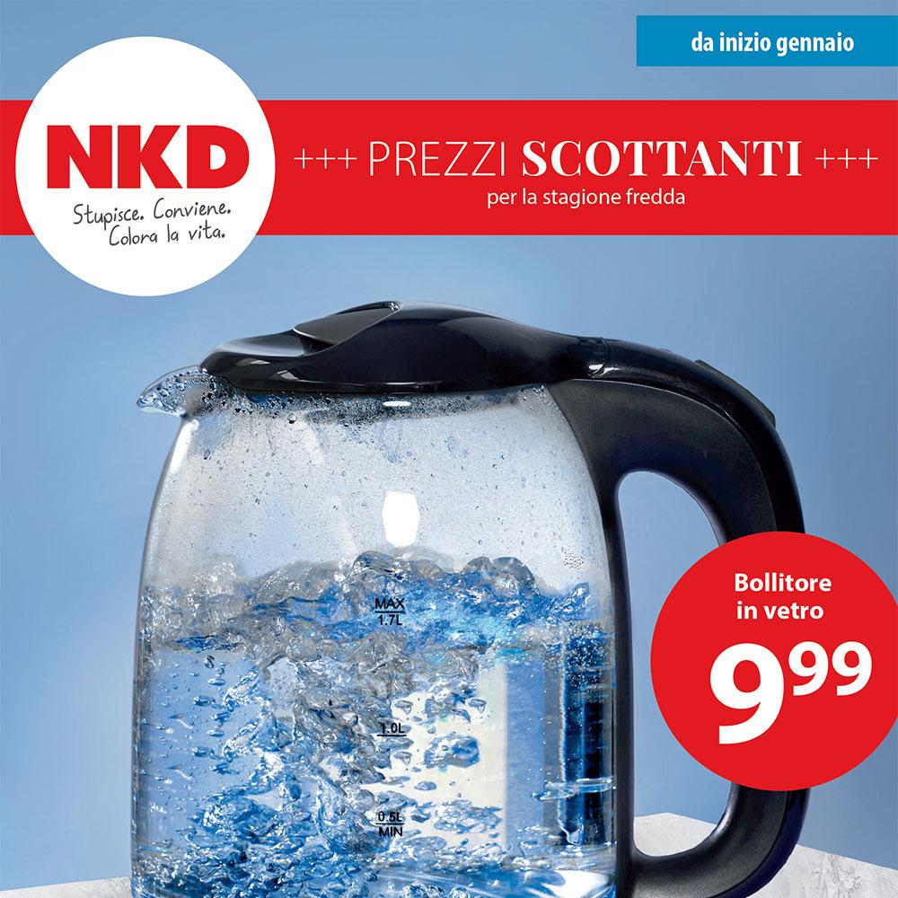 Offerta NKD - Prezzi Scottanti - Valida da inizio gennaio 2021