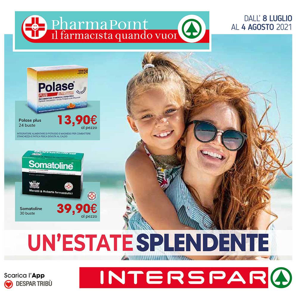 Offerta Pharmapoint - Un'Estate Splendente - Valida dall'8 luglio al 4 agosto 2021