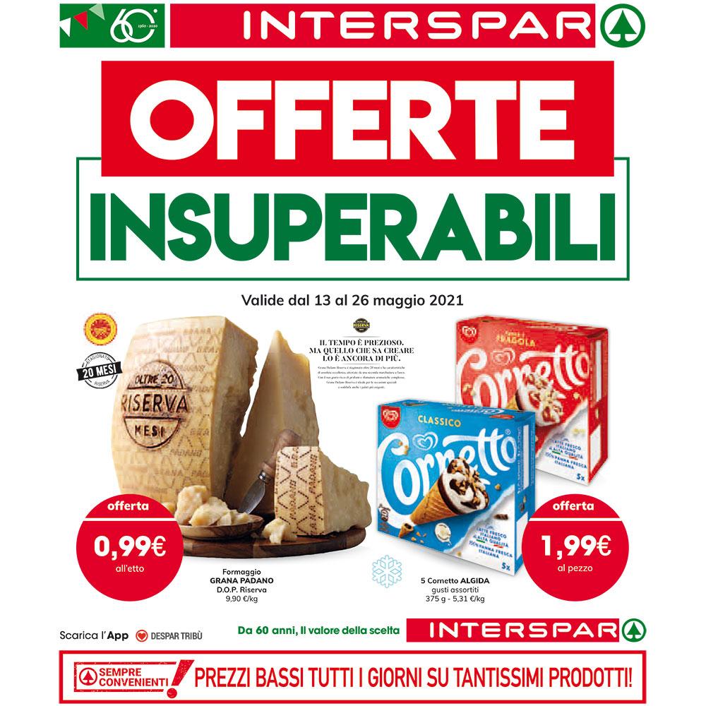 Promo Interspar - Offerte Insuperabili - Valida dal 13 al 26 maggio 2021