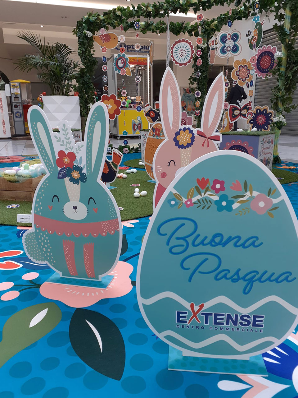 Pasqua 2021 - Centro Commerciale Extense