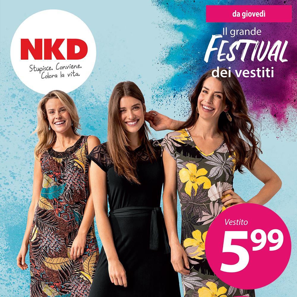 Offerta NKD - Il grande Festival dei vestiti - Dal 5 maggio 2021