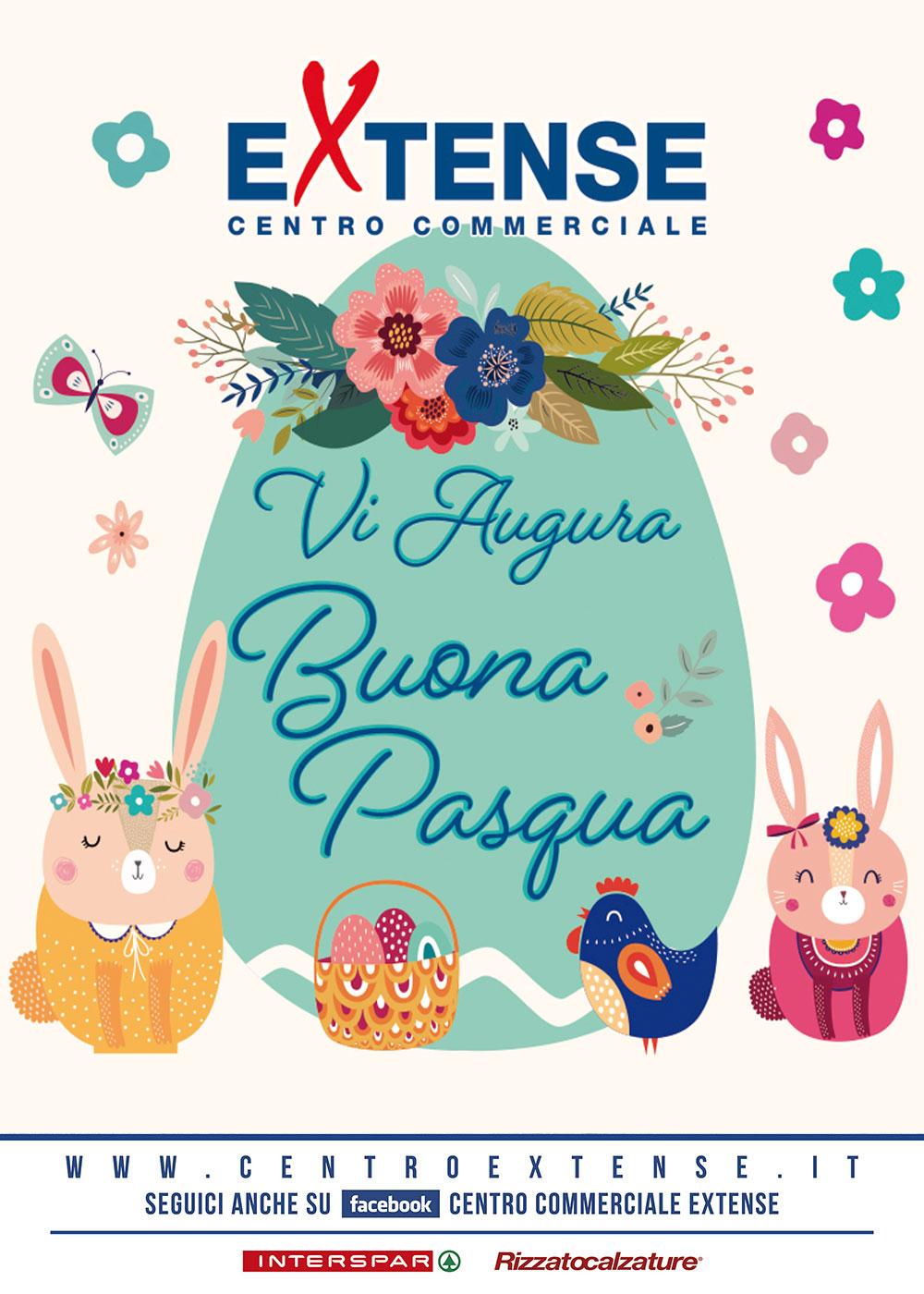 Pasqua 2021 - Centro Commerciale Extense - 4/5 aprile 2021