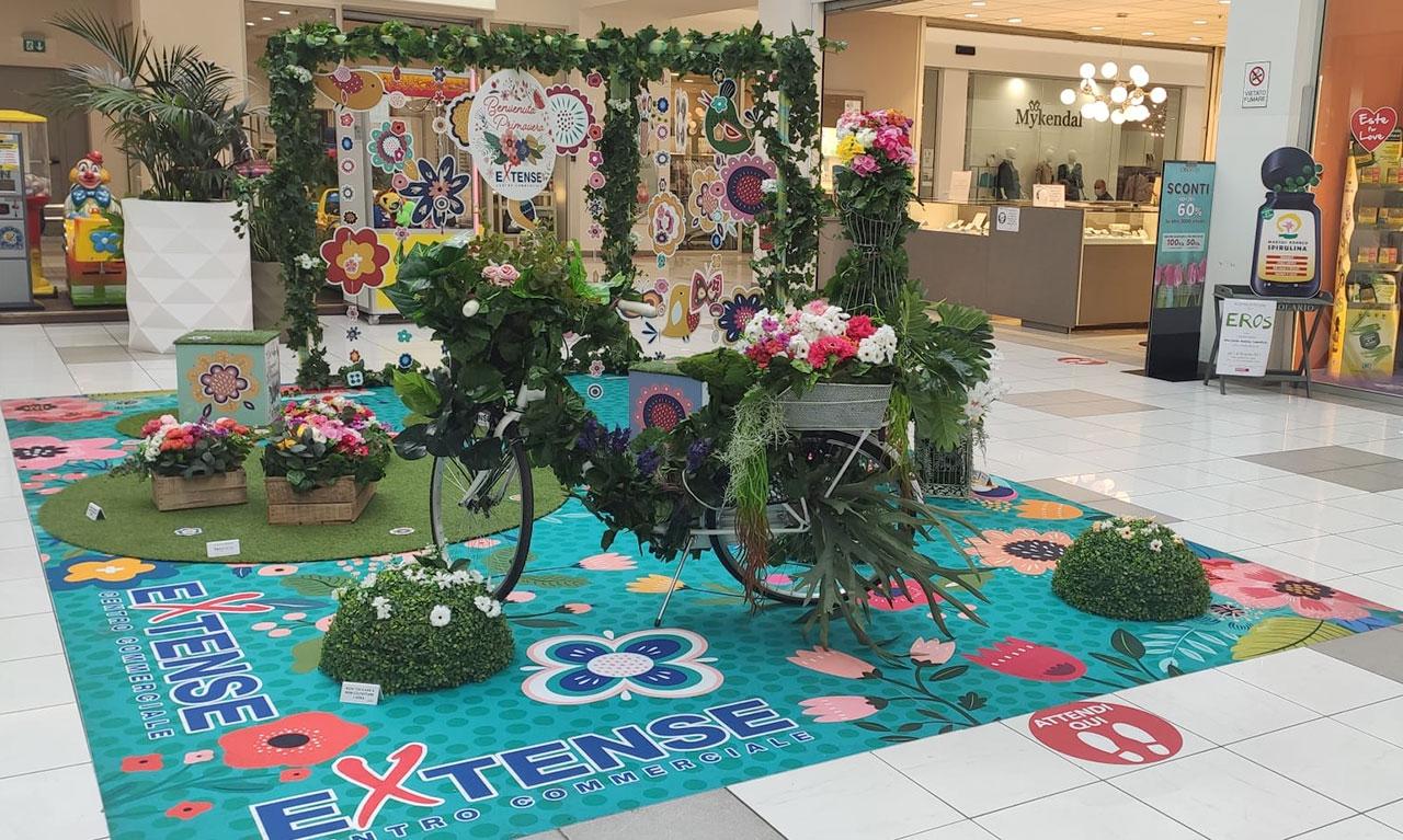 Corner a tutta Primavera al Centro Commerciale Extense